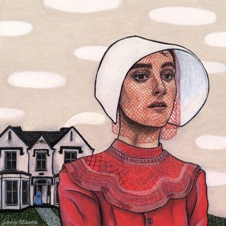 Illustration Margret Atwoods Ha - janna_klaevers | ello