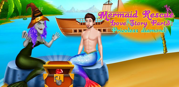 previously mermaid rescue, capt - gameimake | ello