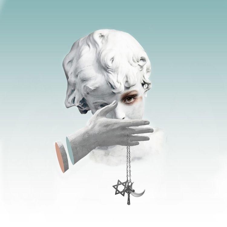 digital, collage, art, artwork - gokcegok | ello
