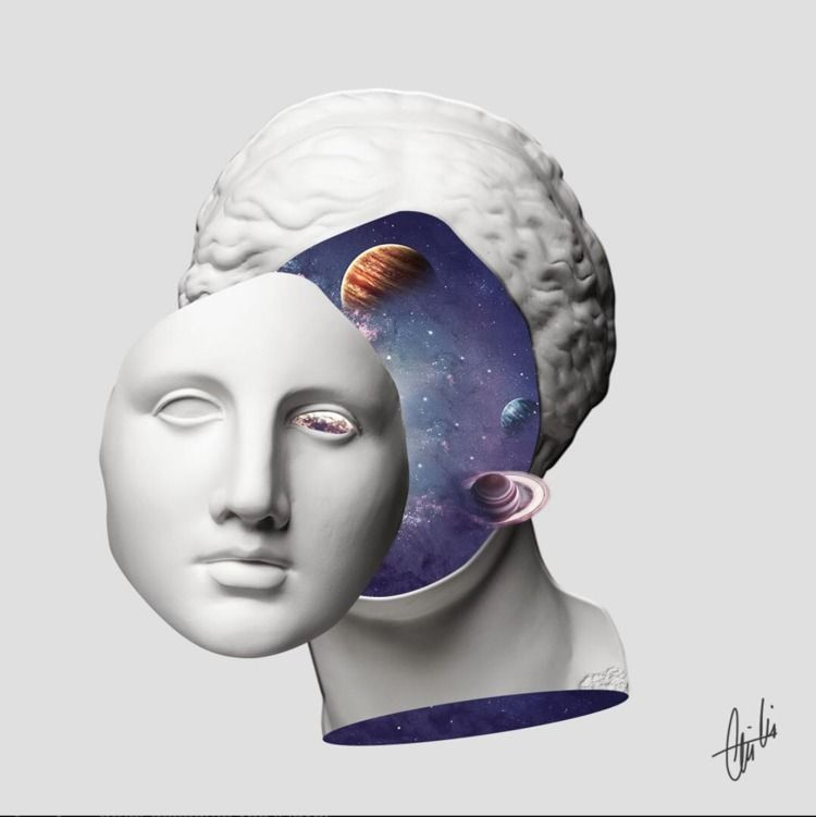 universe, universeofenergy, collage - gokcegok | ello