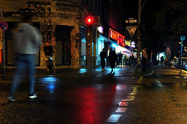hms.photography Neon Noir light - hmsart | ello