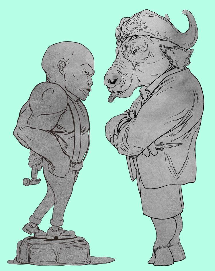 Character designs! Sweet Tooth  - tarikmask67 | ello