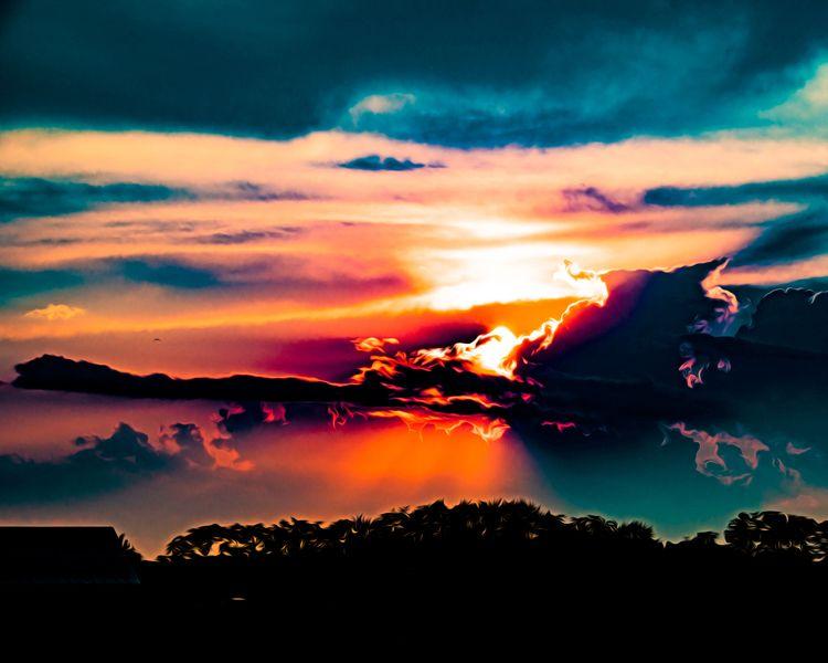 Sunset 8/3/18 - scalzi | ello