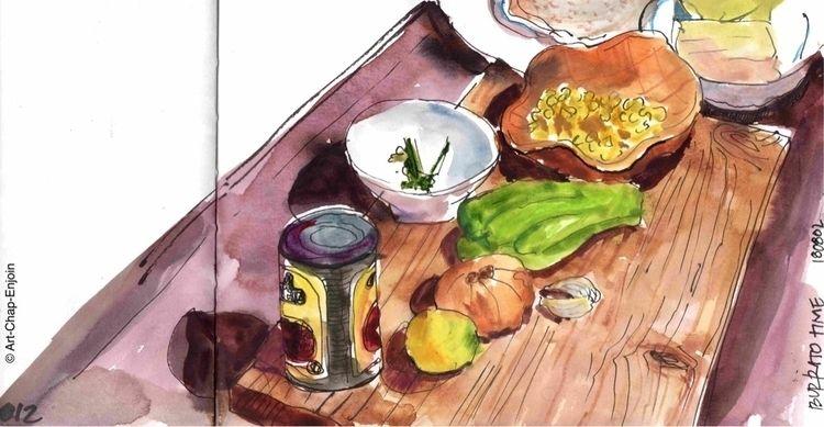 812 — Burrito time forgot key i - artchapenjoin | ello