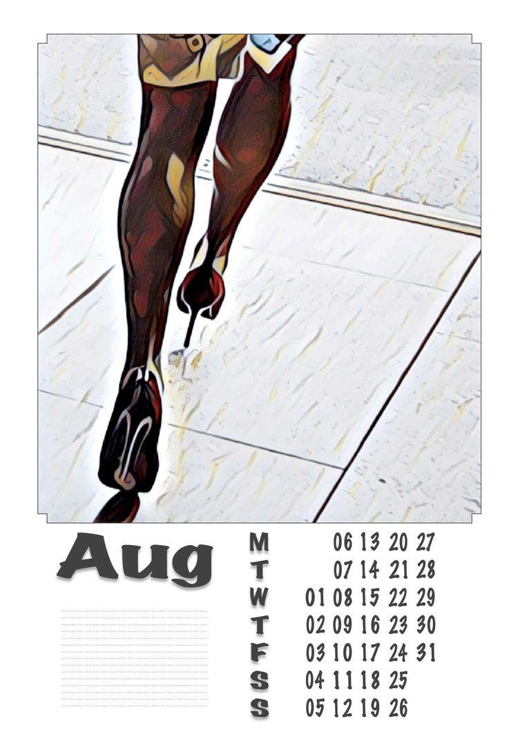 | August - Legs, Heels, Photography - ziolele | ello