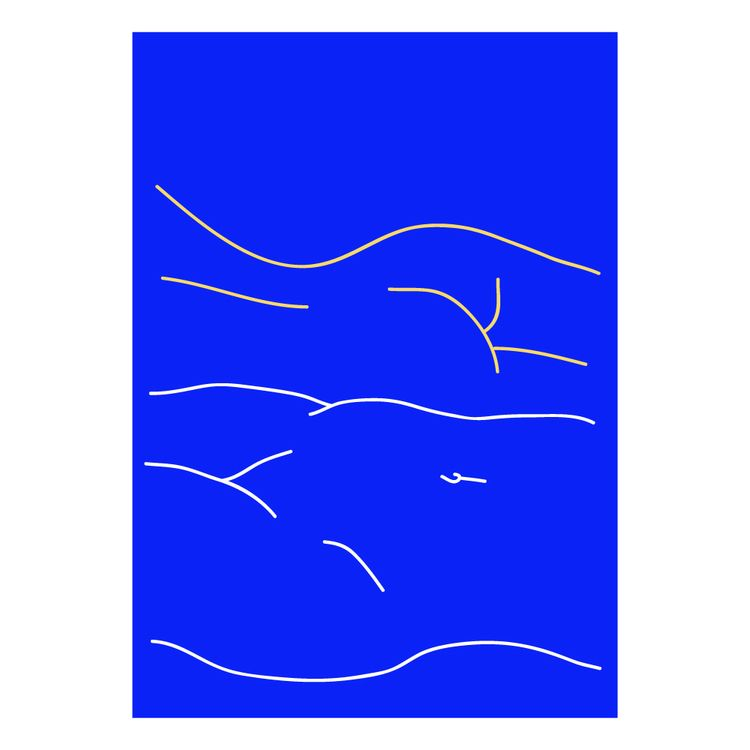 illustration, graphism, lines - pauline_roquefeuil | ello