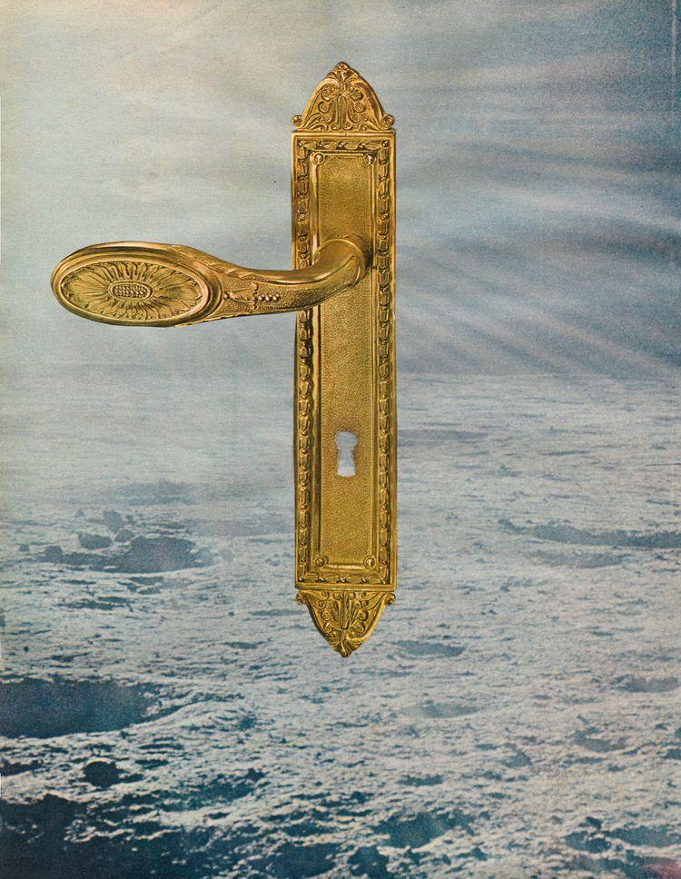 Ouvrir la porte à - 25,6x33 cm  - claire_martine_ | ello