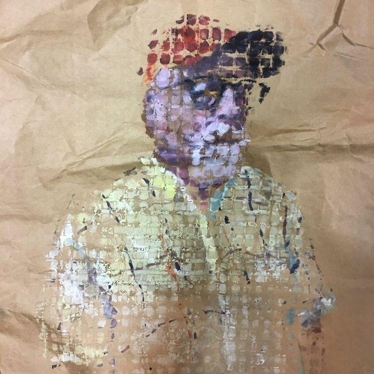 pattern, portrait, paint, art - yuliavirko | ello