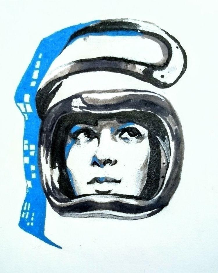 [study space race propaganda po - tooshiro | ello