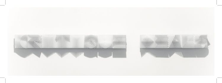 Critique Heals / 2015 9x9x140cm - michaelvandenbesselaar | ello