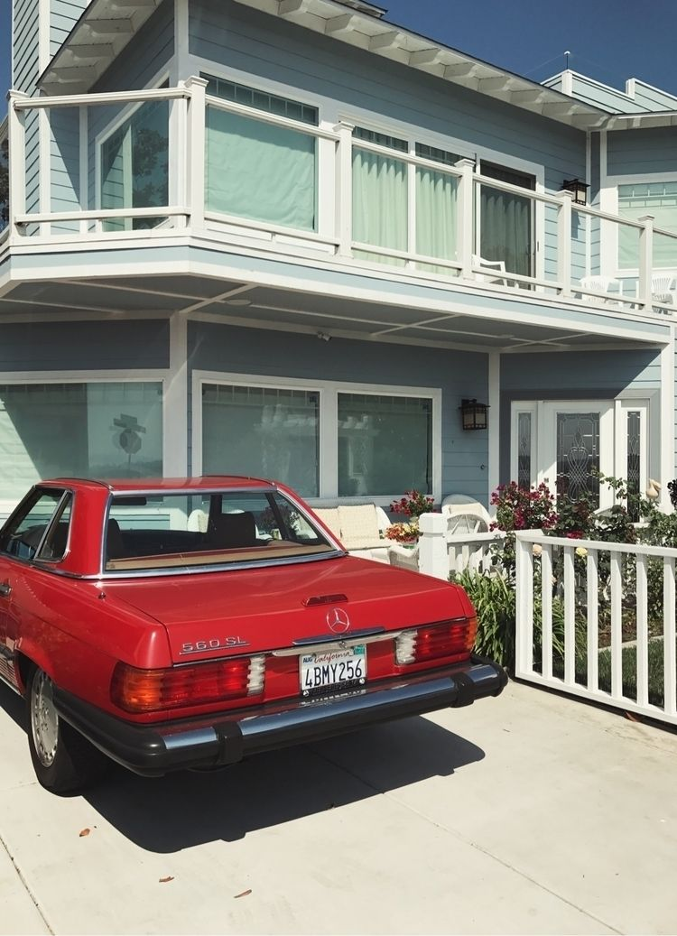 photography, car, red, architecture - thecalliefox | ello