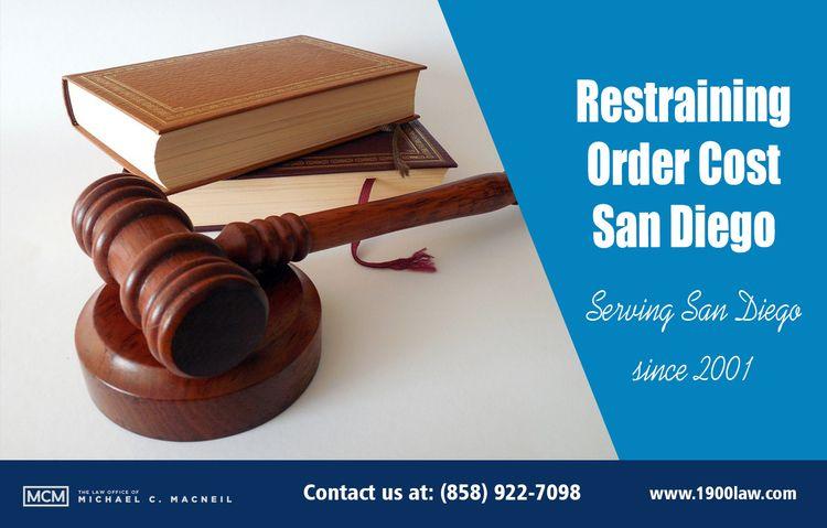 Restraining Order Cost San Dieg - sandiegodivorce | ello