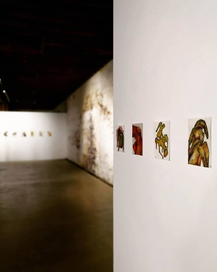 sneek exhibition 'Thought Trans - jacobbayneartist | ello