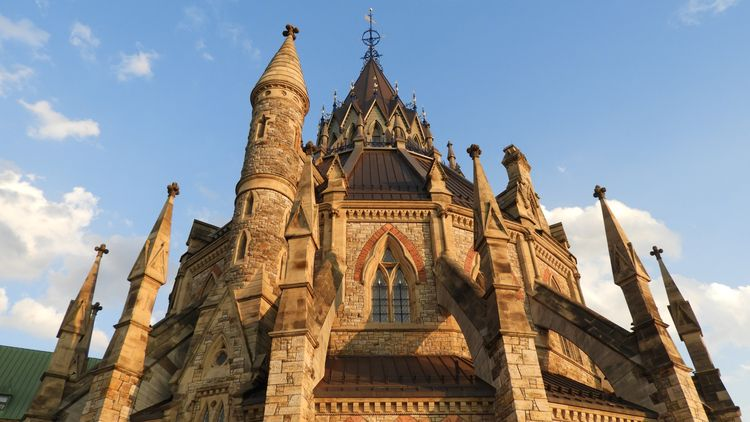 Library Parliament, Ottawa - architecture - koutayba | ello