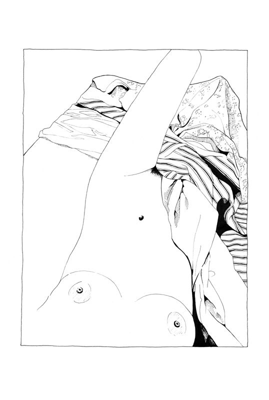 3 // erotic drawing series - vecote | ello