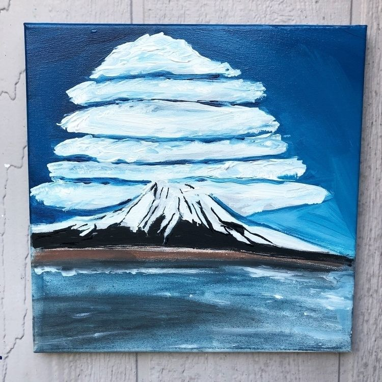 Mt Fuji - modern, modernart, abstract - nash-heff | ello