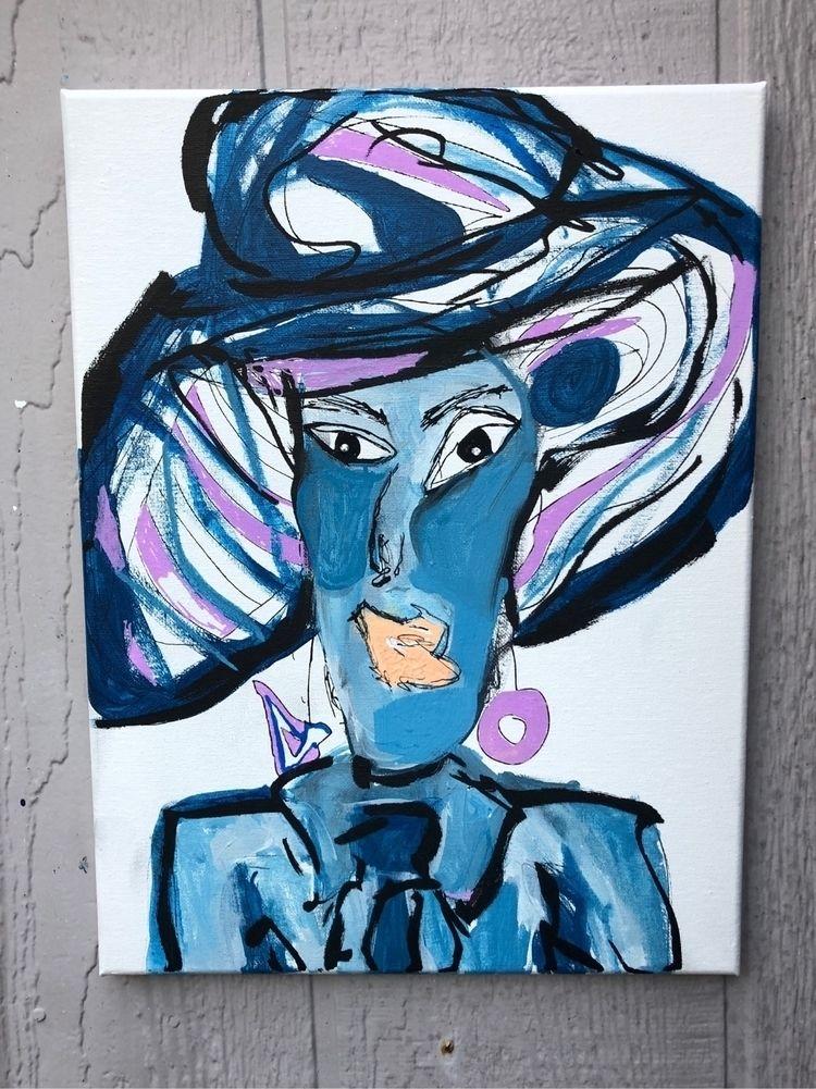 Derby Girl - modern, modernart, abstract - nash-heff | ello