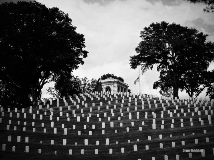 Memorial - blackandwhite, landscape - drewsview74 | ello
