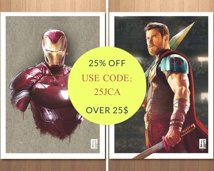 Buy Superhero Wall Art Prints O - jacksoncasperszart | ello