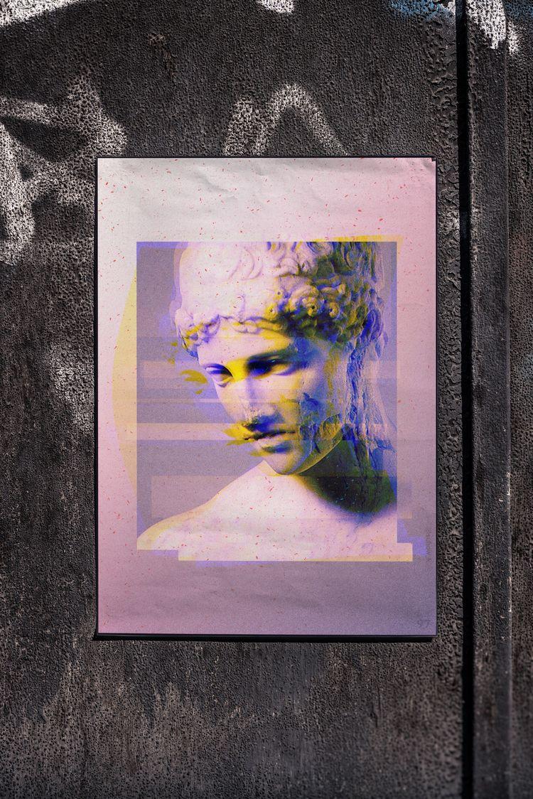 poster №97 - glitch, glitchart, glitchartistscollective - suhow_k | ello