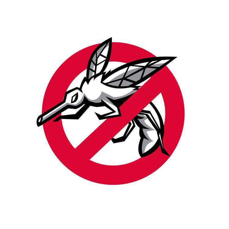 Stop Mosquito Sign Mascot - StopMosquitoSign - patrimonio | ello