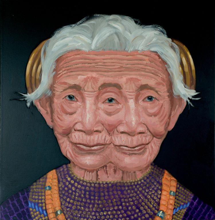 Naga woman. 30 30. Oil canvas.  - jackrosenberg | ello
