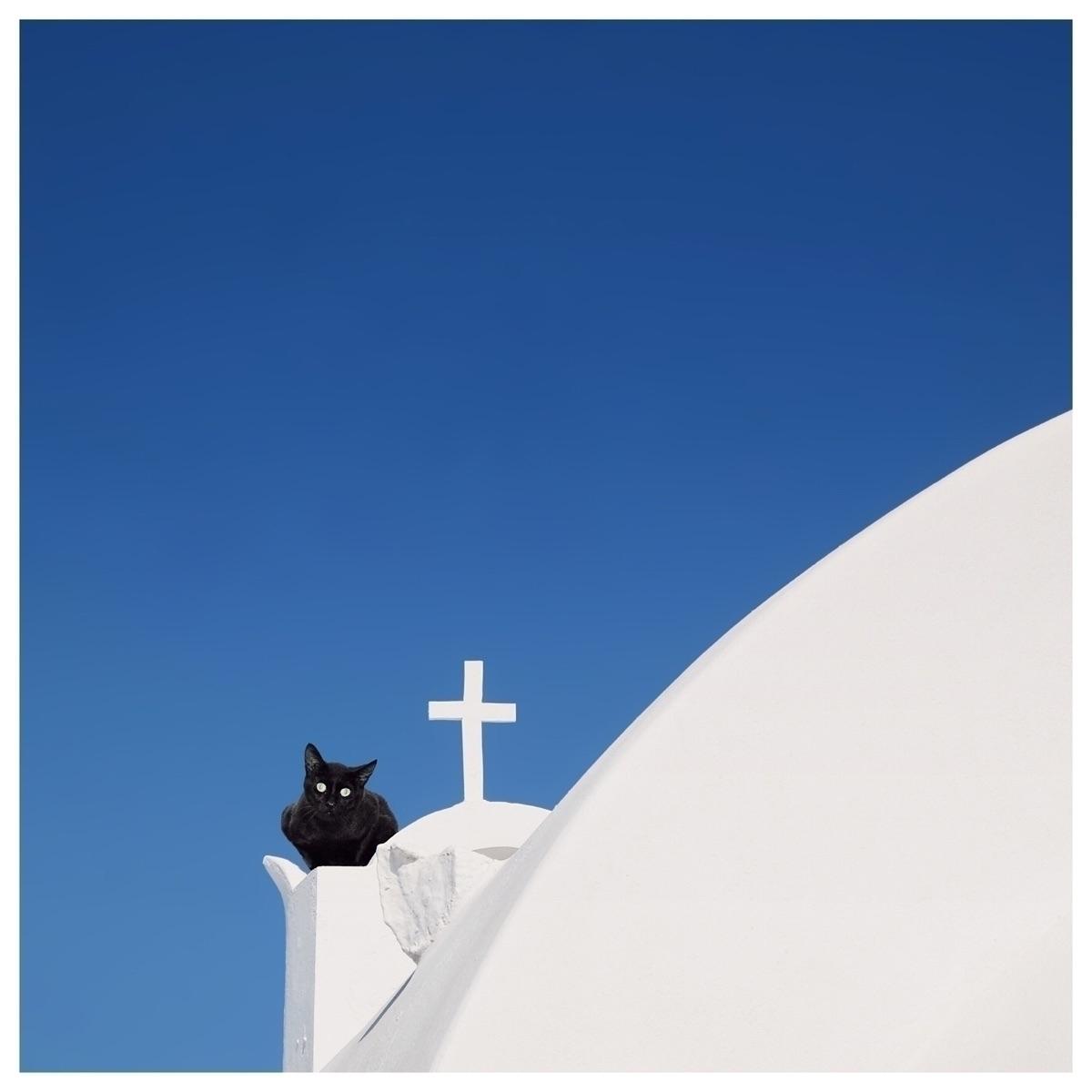 Santorini, white blue Series Sé - murielleetc | ello
