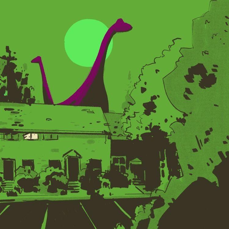 ROBOTFACE 004: Dinosaurs Landsc - maljones | ello