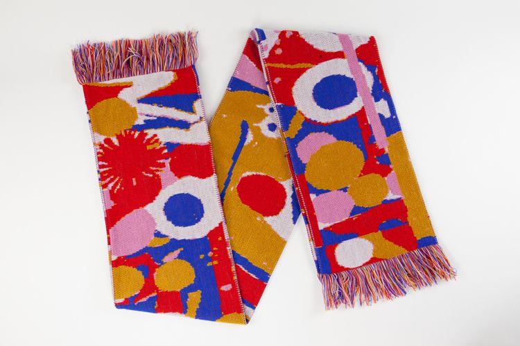 design, illustration, scarf, character - davidluepschen | ello