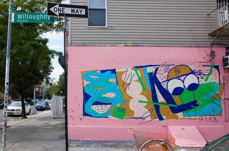 mural, painting, newyork, character - davidluepschen | ello