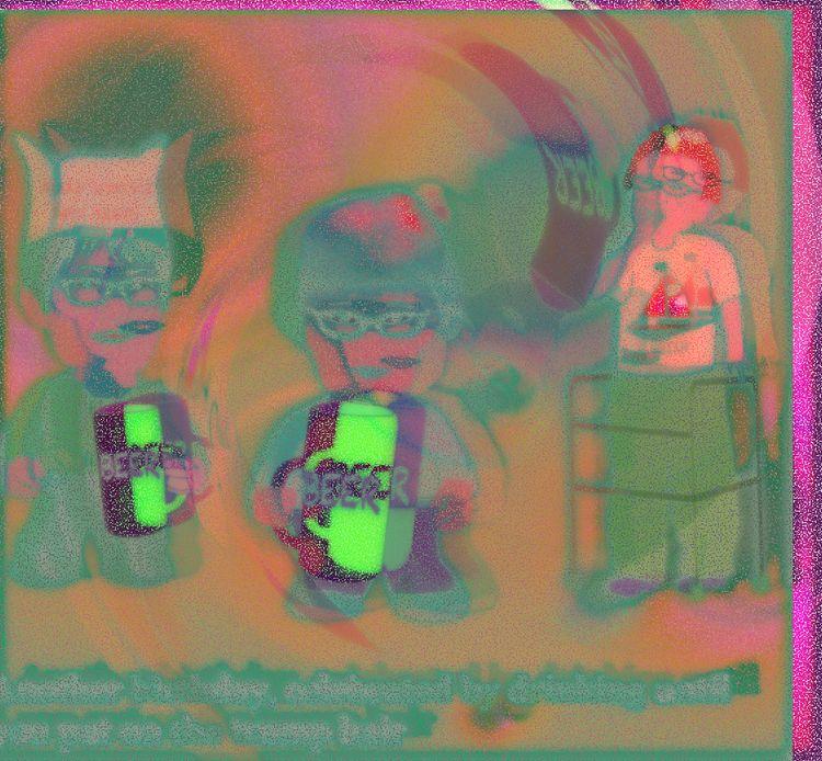 layers, orange, blue, VectorDrawing - coochdawg | ello