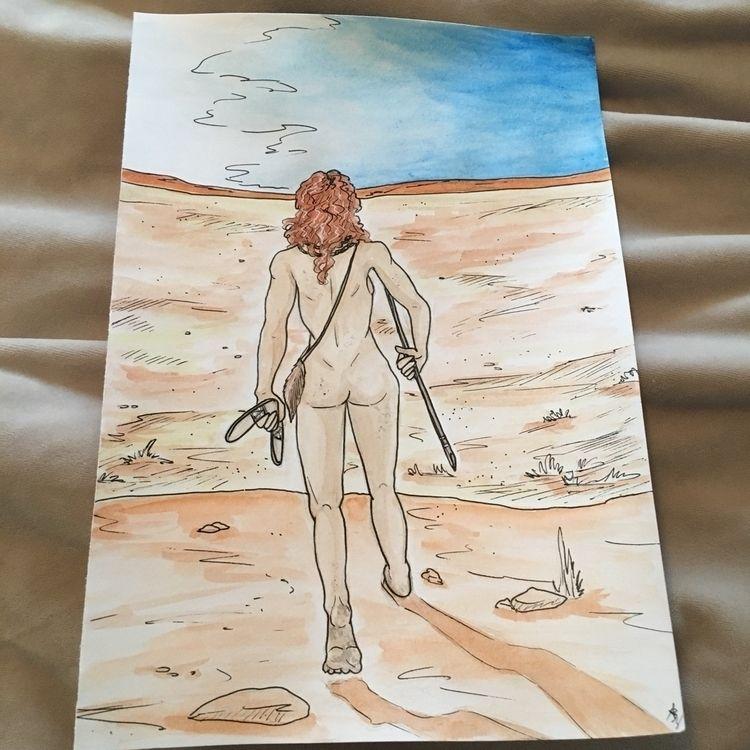 "Illustration Meg book ""Golden U - astarbriarart   ello"