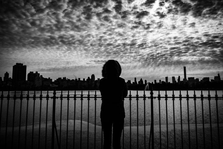 front lake - blackandwhite, streetphotography - davidsonluna | ello