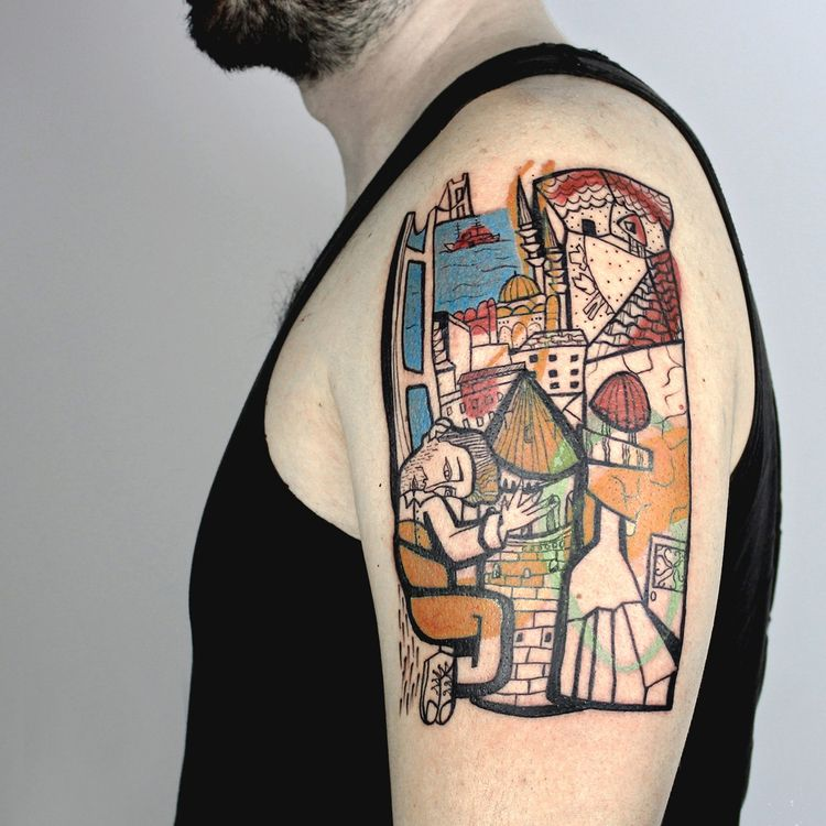 Remakes Modernism Mess Tattoos - scene360 | ello