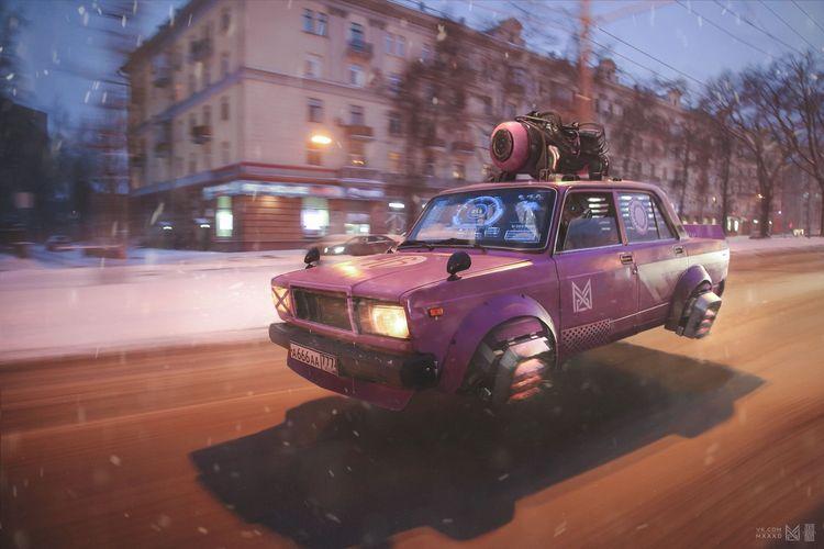 «Russia 2077» Evgeny Zubkov - weirdrussia | ello