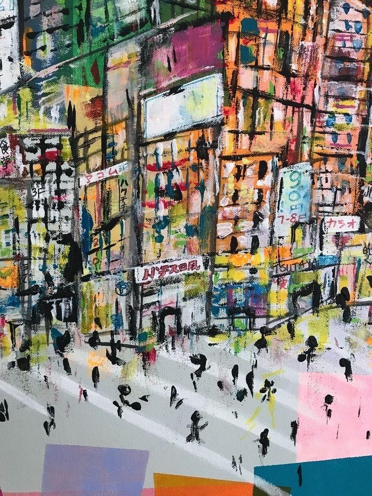 art, painting, acrylicpainting - melodylamoureuxart | ello