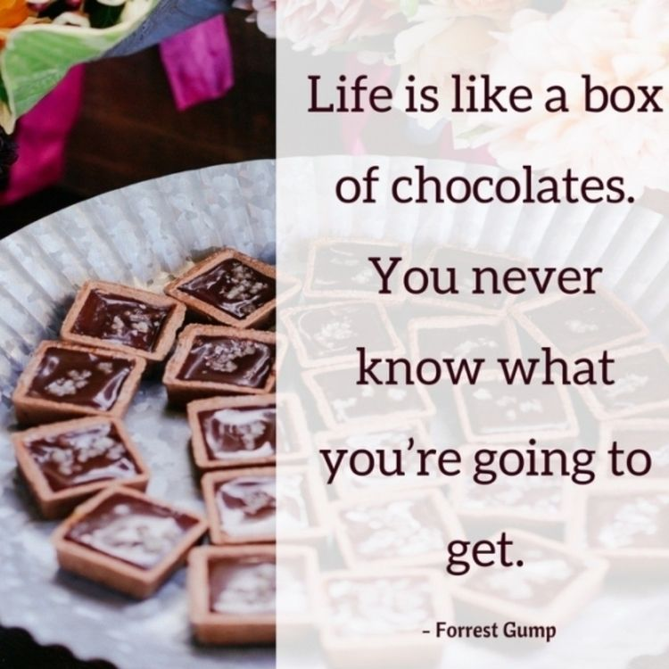 Life Box Chocolates. Forrest Gu - dare2bare | ello