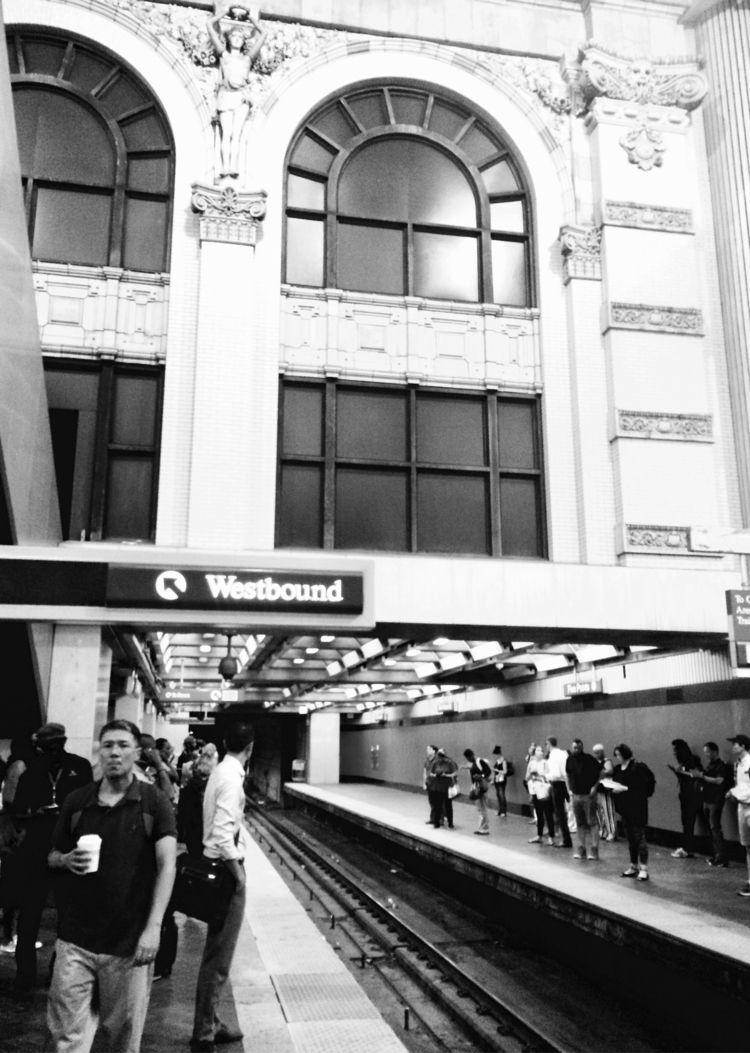 Points Station - blackandwhite, texture - drewsview74 | ello
