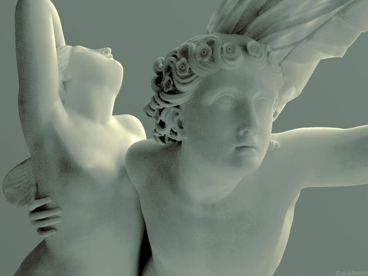 Zephyr Psyche: Study statue scu - daaram | ello