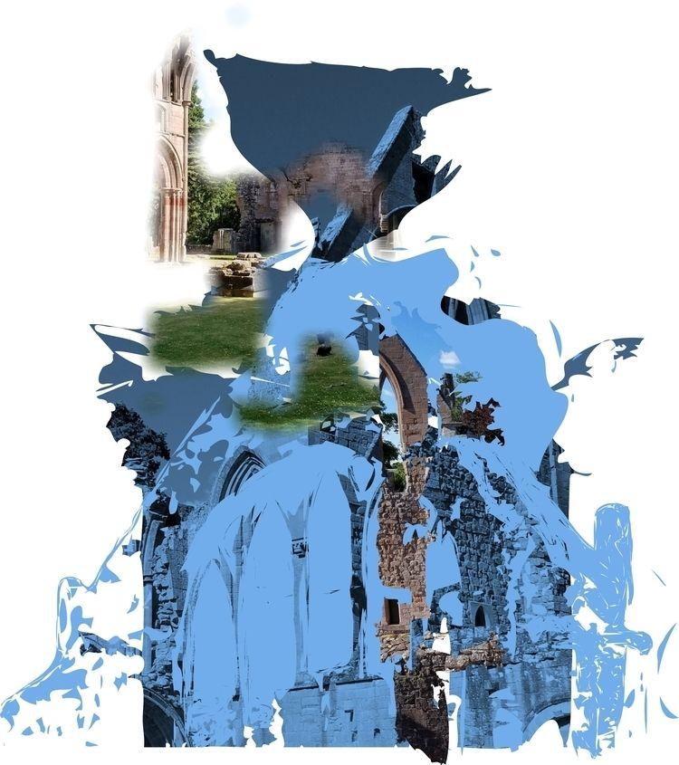 Dryburgh Abbey - art, contemporaryart - paulsmedberg | ello