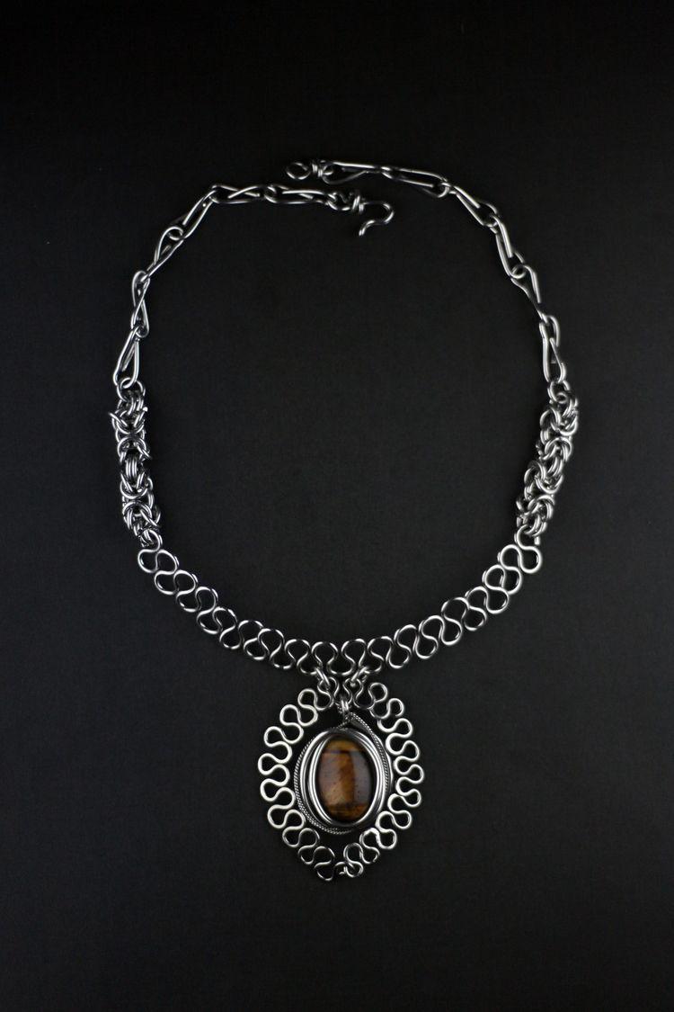Gargantilha feita em prata 950  - mrandmrsmacedo | ello