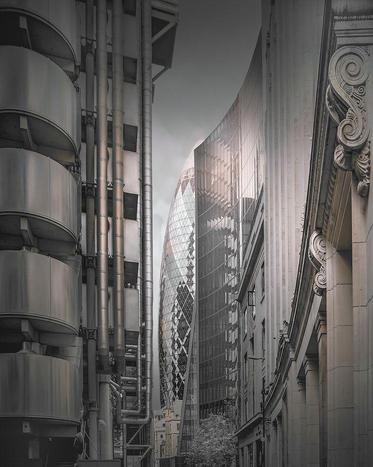 Gherkin London (Abstract) - Gol - johnkosmopoulos | ello