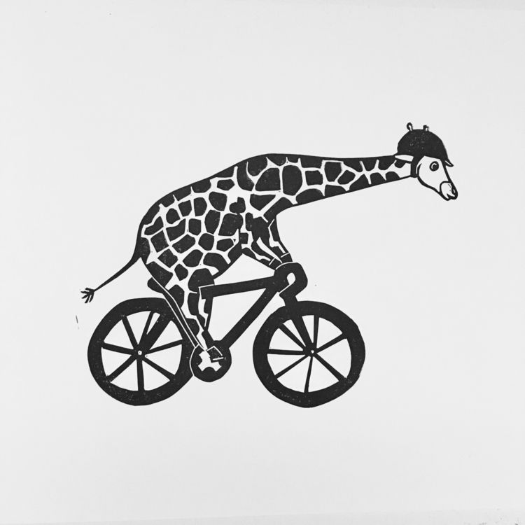 Giraffe number 2. customer like - studiomalu | ello
