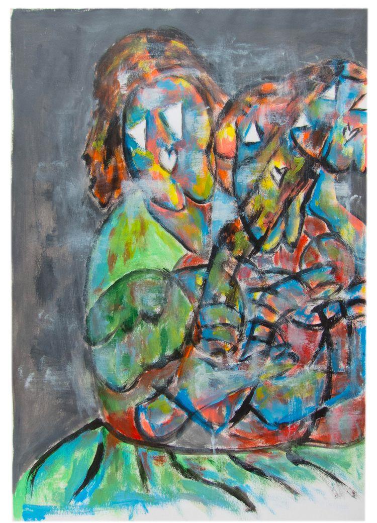 XX Painting series world taught - bywillak | ello