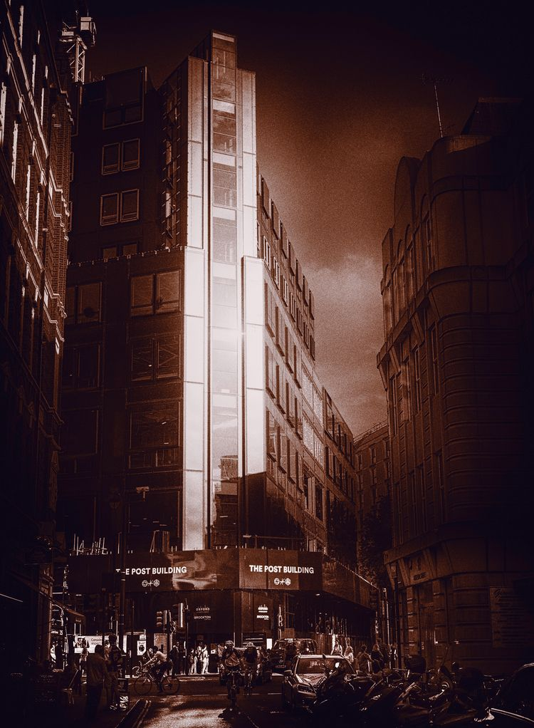 Sundown Holborn High - artphotography - urbanart | ello