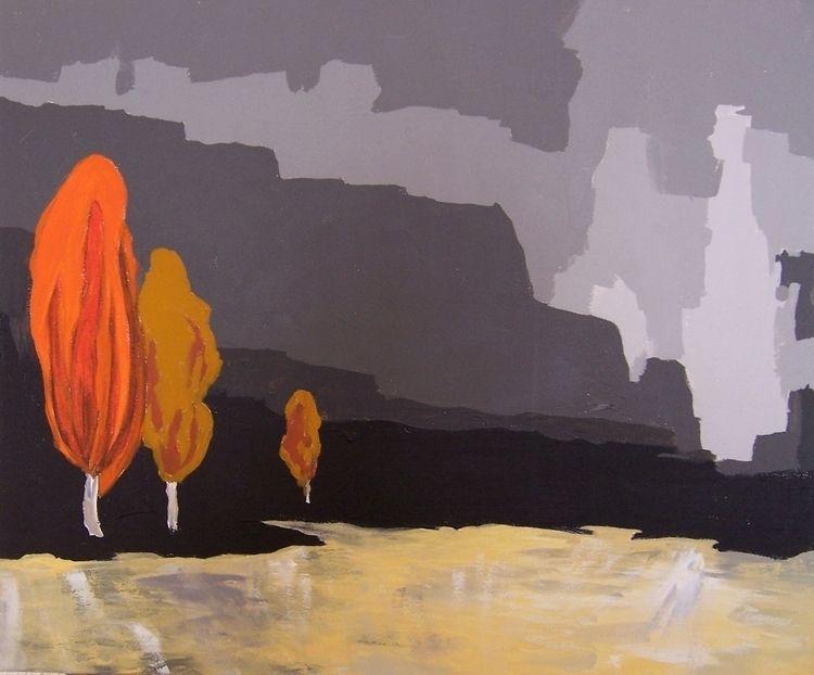 Tres árboles hacen bosque — Pue - artisticojuancarlos | ello