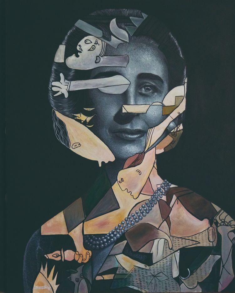 La Collares Acrylic/canvas 150x - spika-art | ello