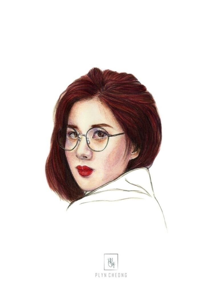 seohyun, kpop, portrait, drawing - plyncheong | ello