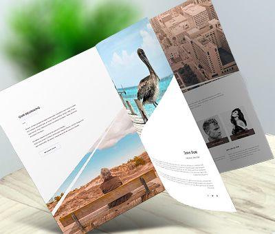 Brochure catalog design service - steve_george   ello