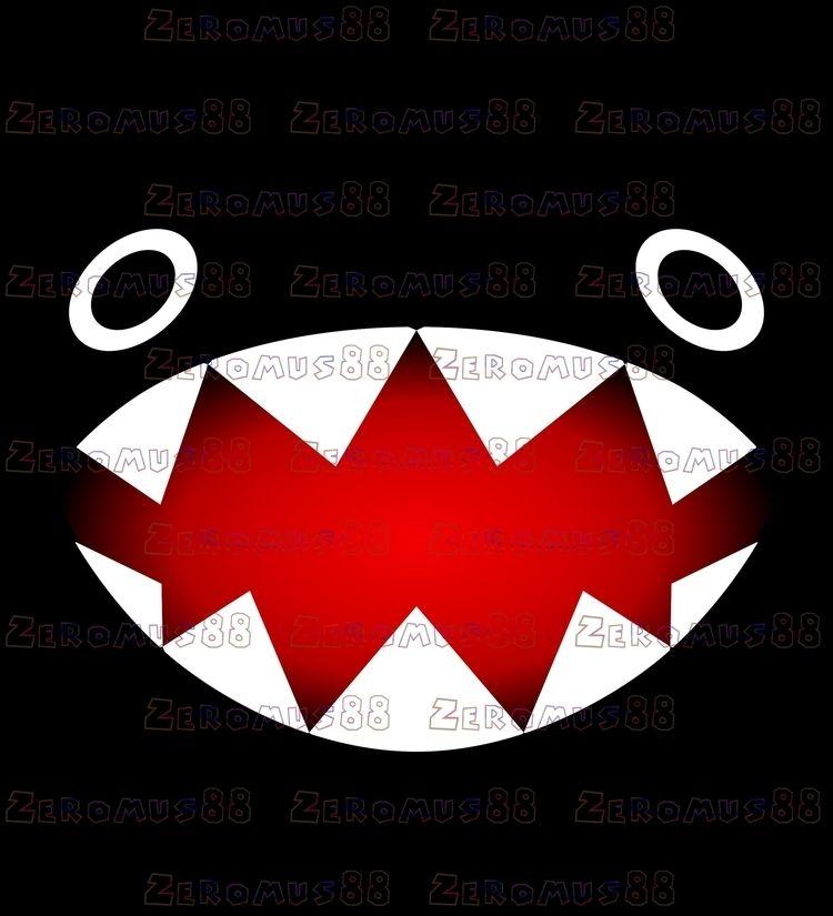 retro, enemy, face, cute, teeth - zeromus88   ello